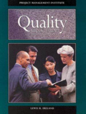 Quality Management for Projects and Programs 9781880410110