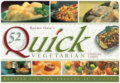 Quick Vegetarian Cards: Recipes You Can Prepare in a Hurry 9781886069695
