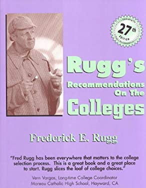 Rugg's Recommendations on the Colleges 9781883062767