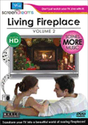 Screen Dreams: Living Fireplace Volume 2