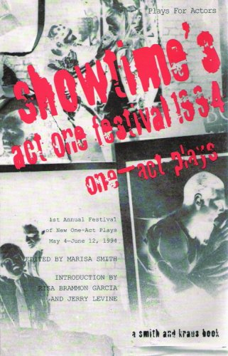 Act One Festival '94 : One-Act Plays