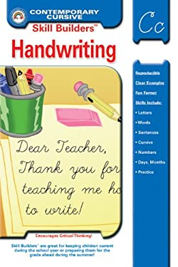Skill Builders Contemporary Cursive Handwriting 9781887923071