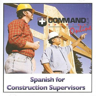 Spanish for Construction Supervisors 9781888467741