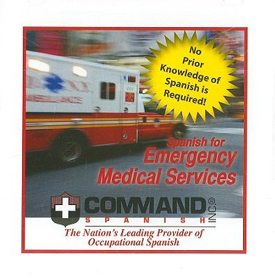 Spanish for Emergency Medical Services 9781888467864