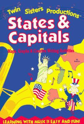 States & Capitals (Rhythm, Rhyme and Read Series) 9781882331246
