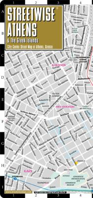 Streetwise Athens Map - Laminated City Center Street Map of Athens, Greece: Folding Pocket Size Travel Map 9781886705340
