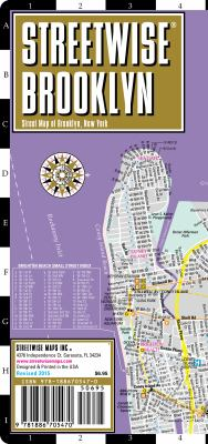 Streetwise Brooklyn Map - Laminated City Street Map of Brooklyn, New York: Folding Pocket Size Travel Map 9781886705470