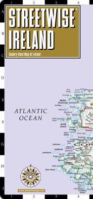 Streetwise Ireland Map - Laminated Country Road Map of Ireland: Folding Pocket Size Travel Map 9781886705708
