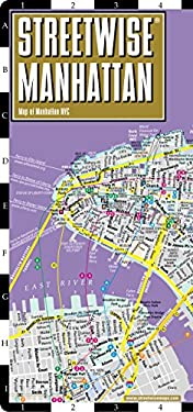 Streetwise Manhattan Map - Laminated City Street Map of Manhattan, New York: Folding Pocket Size Travel Map