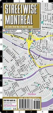 Streetwise Montreal Map - Laminated City Street Map of Montreal, Canada: Folding Pocket Size Travel Map 9781886705876