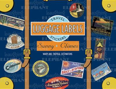 Sunny Climes Luggage Labels 9781883211691