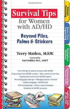 Survival Tips for Women with Ad/HD: Beyond Piles, Palms, & Post-Its 9781886941595