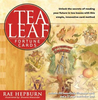 Tea Leaf Fortune Cards Tea Leaf Fortune Cards [With 96 Page Book and 200 Full-Color Round Cards] 9781885203762
