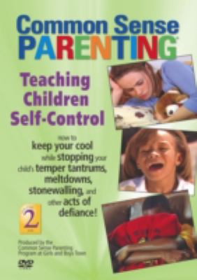Teaching Children Self-Control 9781889322858