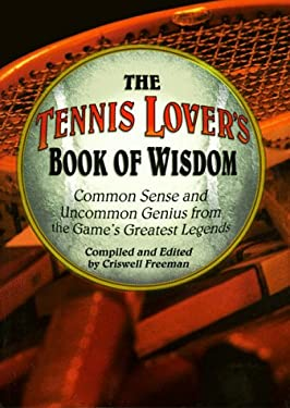 Tennis Lover's Book of Wisdom 9781887655361