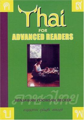 Thai for Advanced Readers 9781887521031