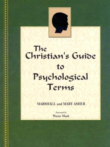 The Christian's Guide to Psychological Terms 9781885904492