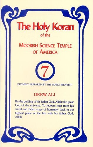 The Holy Koran of the Moorish Science Temple of America 9781886433984