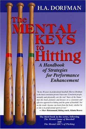 The Mental Keys to Hitting: A Handbook of Strategies for Performance Enhancement 9781888698381