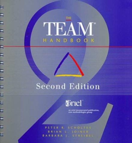 The Team Handbook 9781884731112