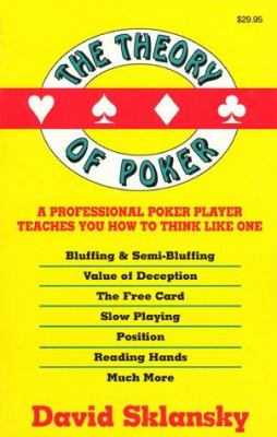 The Theory of Poker 9781880685006