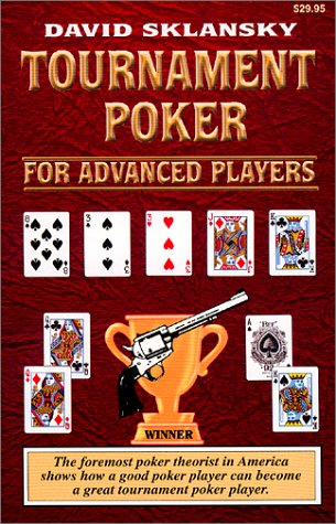 Tournament Poker for Advanced Players 9781880685280