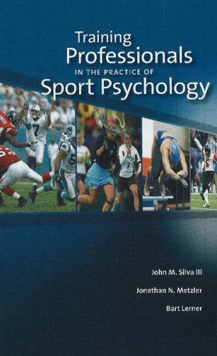 Training Professionals in the Practice of Sport Psychology 9781885693761