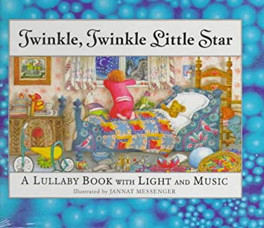 Twinkle, Twinkle Little Star: A Lullaby Book with Twinkling Light & Musical Sound Chip 9781888443295