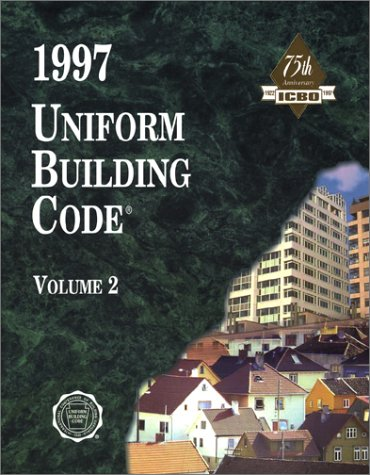 Uniform Building Code Volume 2 9781884590894