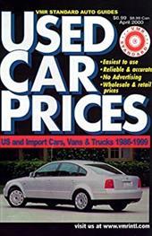 VMR Standard Used Car Prices