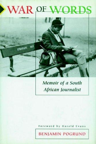War of Words: Memoir of a South African Journalist 9781888363715