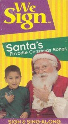 We Sign Santas Favorite Christmas Songs 9781887120661