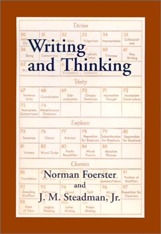 Writing and Thinking: A Handbook of Composition and Revision 9781889439150