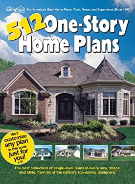 512 One-Story Home Plans 9781893536111