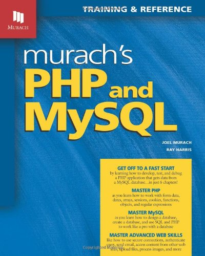 Murach's PHP and MySQL 9781890774561