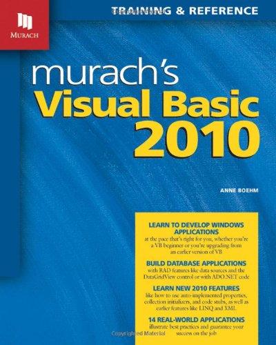 Murach's Visual Basic 2010 9781890774585