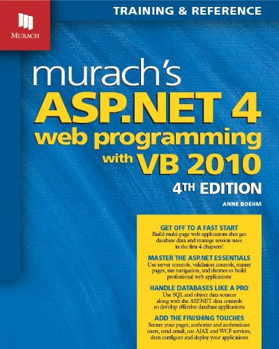 Murach's ASP.NET 4 Web Programming with VB 2010 9781890774608