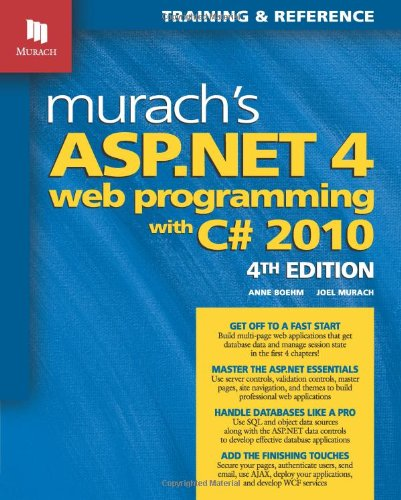 Murach's ASP.Net 4 Web Programming with C# 2010
