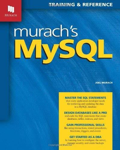 Murach's MySQL 9781890774684