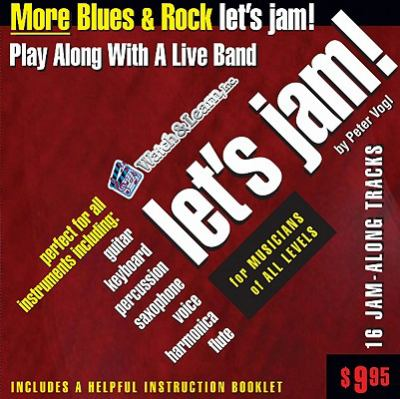 Let's Jam! More Blues & Rock 9781893907799