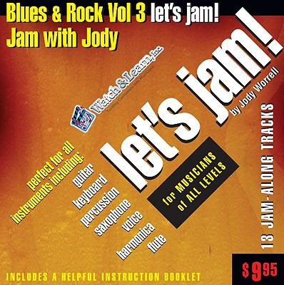Blues & Rock Let's Jam, Volume 3 9781893907805
