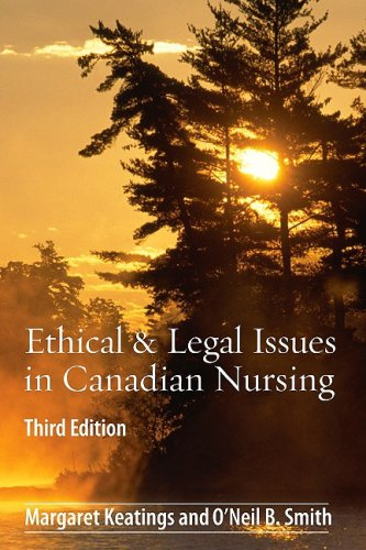 Ethical & Legal Issues in Canadian Nursing 9781897422090