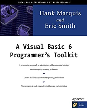A Visual Basic 6 Programmer's Toolkit [With CDROM] 9781893115064