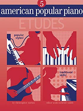 American Popular Piano - Etudes: Level Five - Etudes 9781897379165
