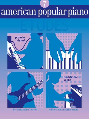 American Popular Piano: Etudes Level 7 9781897379189