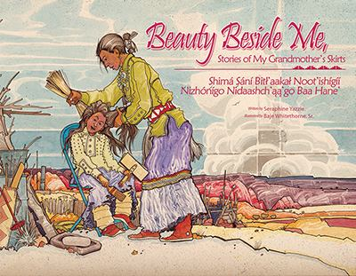 Beauty Beside Me: Stories of My Grandmother's Skirts [With CD (Audio)] 9781893354074