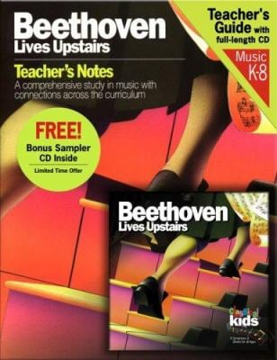 Beethoven Lives Upstairs [With CD] 9781894502719