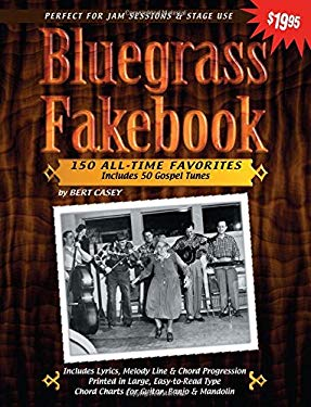 Bluegrass Fakebook 9781893907379