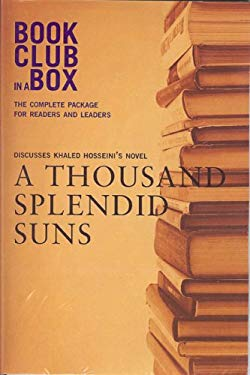 Bookclub in a Box Discusses Khaled Hosseini's Novel a Thousand Splendid Suns 9781897082522