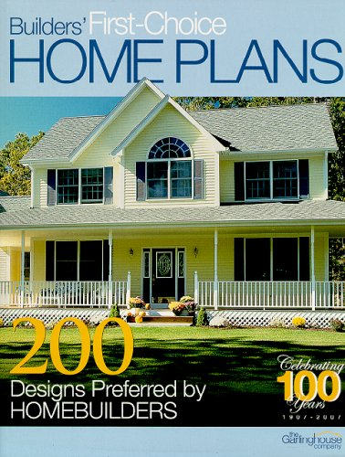Builders' First-Choice Home Plans 9781893536265